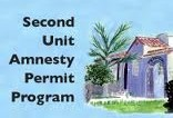 Second Unit Amnesty Program- Sierra Madre approach relevant to Ventura