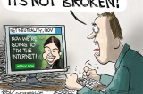 Chip Bok: Net Neutrality –Keep the Chip on board Adopt a Reporter today!