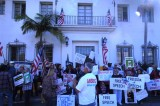Santa Barbara News-Press Freedom of Speech Rally- and counter-rally- 1-19-15- Part 1