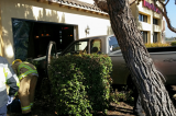 Oxnard: Man crashes truck into banquet room of Topper's Pizza Place