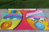 A Pictorial–Around the County with Donna Hendricks:  Ventura Art and Street Painting Festival!