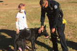Our local heroes make a little girl's wish come true