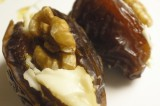Simplest Hors d'oeuvre you will ever make – Cream Cheese Stuffed Date