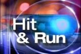 Two cars struck by hit and run driver