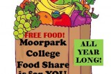 Moorpark College will partner with Food Share, Ventura County's Food Bank and Bags of Hope food pantry