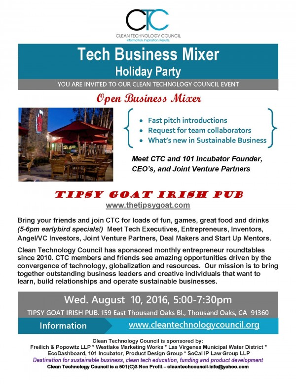 2016.8.10 Tech Business Mixer Holiday Party