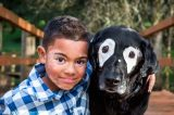 Boy Embarrassed by Skin Condition Overjoyed to Meet Dog With the Same