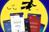 Trick or treat: Would you hand out $1 gift cards for company stock instead of candy?