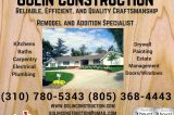 Golin Construction- Remodel and Addition Specialist
