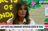 Melania Trump Greets Young Boy In Migrant Center — The Children's Stories Will Break Your Heart