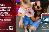 Special Weekend Trains to the LA County Fair | Ride Metrolink