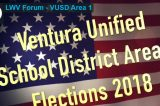 Ventura Unified School District 1 2018 Board Candidates Debate