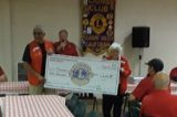Pleasant Valley Lions Donate to PV School District Sesquicentennial