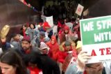 Striking teachers picket week 1; local and national media reports