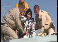 NASA Astronaut Anne McClain, Crewmates Return from Space Station Mission