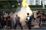 Flag-Burning, Brawling, Chanting: Here's A Closer Look At The Chaos Outside The White House