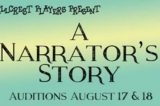 Auditions Held for  Hillcrest Players Production Of  A Narrator's Story