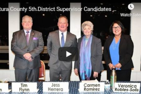 Ventura County Supervisor District 5 Candidates Forum at the Channel Islands Yacht Club 2-10-2020.