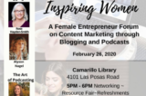 "BUSINESS | ""Inspiring Women –A Female Entrepreneur Forum on Content Marketing"" Blogs & Podcasts in 2020"