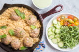 Make Meatballs and Couscous in a Single Skillet