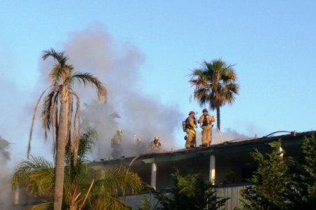 Firefighters Quickly Beat Down Blaze at Abandoned Casa Sirena