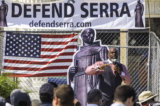 Pictorial | Defend Father Serra – Protest to Celebrate City's Founder – Return Monument to Rightful Place in Ventura