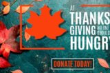 Will you begin the holidays by helping hungry people?