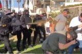 Black Bloc Mob of Antifa Terrorists Assault Group of Trump Supporters in San Diego (VIDEO)